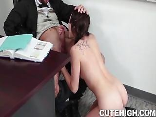 Adria Rae Giving Head