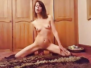 Slim Young Girl Masturbates