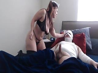 Kinky Nurse Can't Get Enough Of His Dick