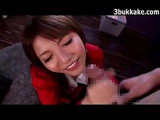 Messy Japanese Facials 4981727