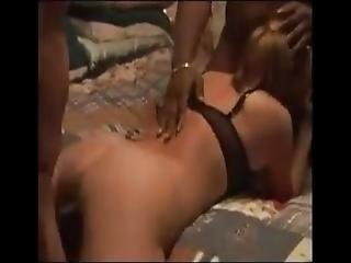 Wife Gets Banged By Three Total Strangers Bareback