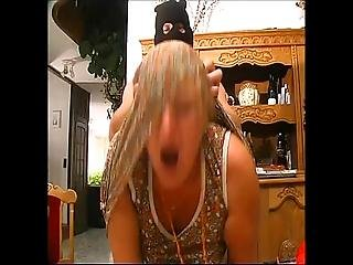 Two Criminals Breaking In A House And Abusing Two Mature Women
