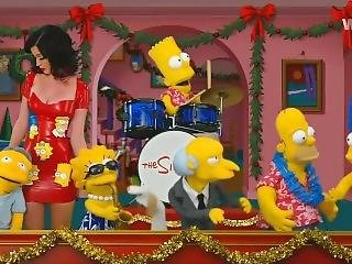Katy Perry - Les Simpsons (20-12-2014)