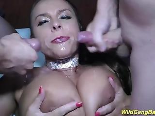 Busty Milf Sexy Susi Wild Gangbanged