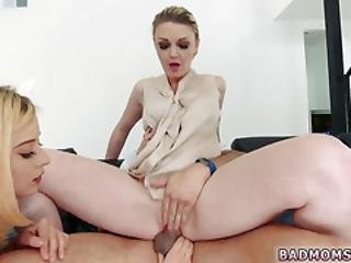 Thick Milf Threesome If You Dont Fuck Him Mommy Will