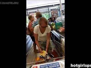 Wife Flashing In Walmart