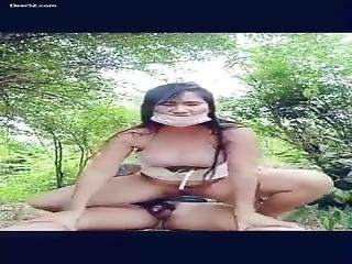 Desi Girl Fucking In Jungle