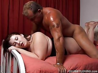 Cute Curvy Chubby Chick Is A Super Hot Fuck