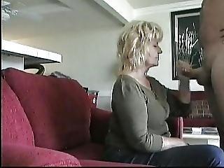 Older Neighbor Gives Bj On Hidden Cam