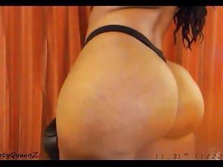 afrikansk, rompe, stor rompe, brunette, ebony, modell, webcam