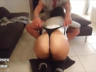 Teen Thong Slut And Hot Gold Ass Boyfriend Monster Cock