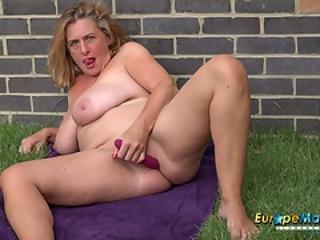 Europemature Camilla Creampie Amazing Solo Play