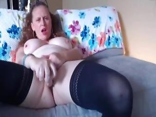 Housewife With Natural Milky Tits And And Fat Pussy