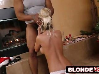 Christmas Blowjob And Rimjob For Bad Black Santa By Tanner Mayes