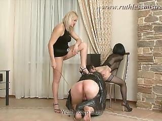 Ruthlessmistress.com - Total Restraint And Ass Worship