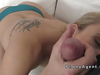 Naked Tall Blonde Model Fucking
