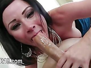 Cool Blowjob And Deepthroat With Nasty Bitch