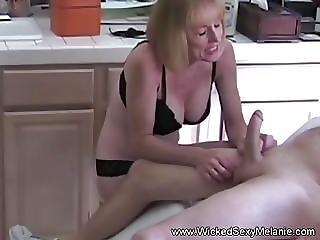 ερασιτεχνικό, παίξιμο, milf, μητέρα, σέξυ