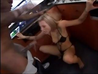 White Blonde Girl Vs Hard Black Cock...amazing Blowjob!!!.mp4