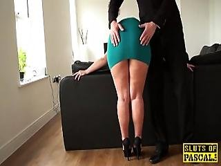 British Sub Roughly Assfucked Before Facial