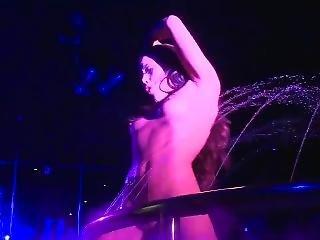 Wet Nude Pole Dance Stage Show - Zara Blake - Miss Nude Australia 2016