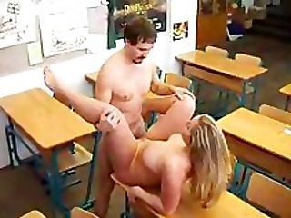 Fat Guy Fucked Busty Teacher