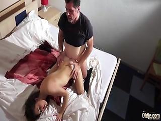 Old Young Porn   Smoking Hot Teen Fucks Older Man Gets Facial Cumshot