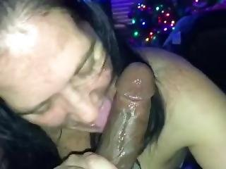 White Slut Worships Bbc
