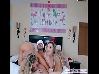 Hot 3some On Bday - Www.hotcamshots.net