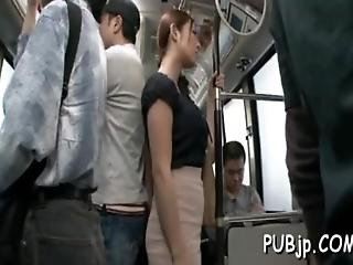 Fucking A Sweet Girl On The Bus