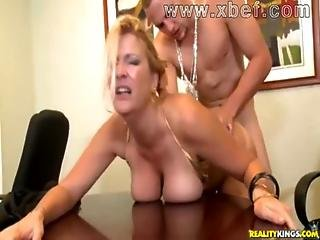 Fuck Your Busty Boss Deep And Hard