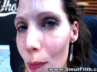 dziwka, obciąganie, bukkake, sperma, płukanie gardła spermą, wytrysk, europejka, twarz, fetysz, fisting, ruchanie, hardcore, seks, połyk, dziwne