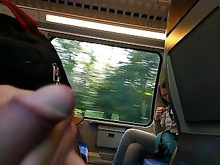 Nice Girl On Train Tour