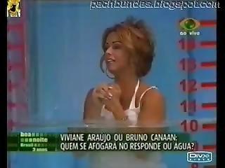Latina Model Viviane Araujo Big Ass Bikini Thong Upskirt !