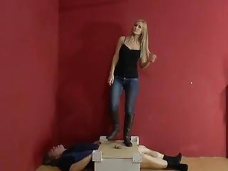 Cock Boot Trample