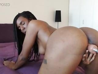 Ayla - First Video With My Fucking Machine
