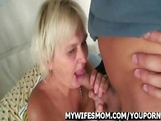 Orgy With Granny And Son In Law