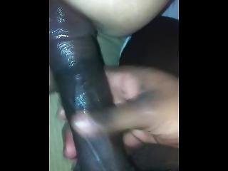 Tall Bbc Slides In White Pussy
