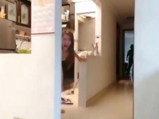 lesbisk, mor, webcam