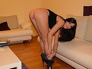 Pretty Cecilia De Lys Gets Her Virgin Plump Ass Fuck With Big Dick