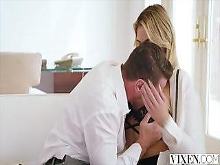 Vixen Paralegal Has Hot Sex With Client