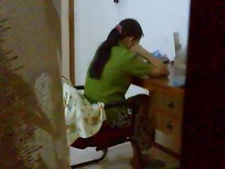 Home Alone Elder Sister Cross Leg Masturbation Caught (rare)