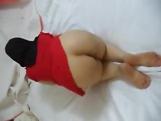 Hijab Bendover Ass And Pussy Arab