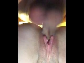 Girl Gets Pussy Filled With Cum