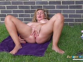 Europemature Camilla Solo Outdoor Performance