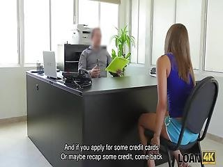 Loan4k Perfect Teen Owned By Agent Because Needs Money For Trip