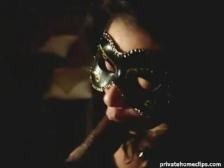 Amateur, Big Tit, Blowjob, Mask