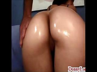 Donny Long Gives Sneaky Half Creampie And Come On Pussy To Bubble Butt Teen