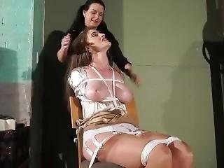 Tied Up And Interrogated