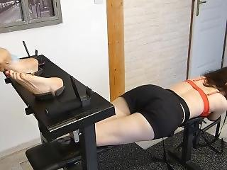 Ariane Endures Tickle Torture - Feet Tickling